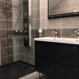 La salle de bains - Chambre d'hôtes - Xouaxange