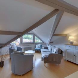 Salon sous chien assis - Location de vacances - Norroy-le-Veneur