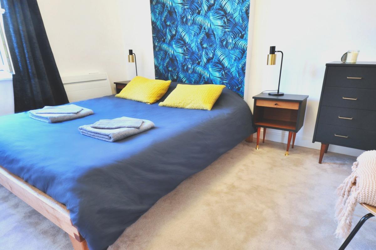 La loges Andromède équipée d'un lit 160x200 - Chambre d'hôtes - Metz