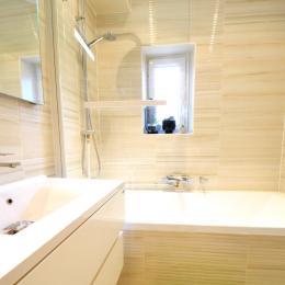 Salle de bain commune avec la loge Mirabelle - Chambre d'hôtes - Metz