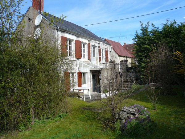 extérieur coté jardin - Location de vacances - Chaulgnes
