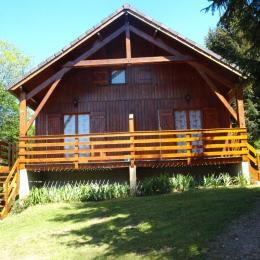 CHALET EN ETE  - Location de vacances - Moux-en-Morvan