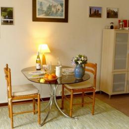 Le coin salle à manger - Location de vacances - La Chapelle-Saint-André
