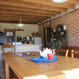 La cuisine - Location de vacances - Saint-Aubin-les-Forges