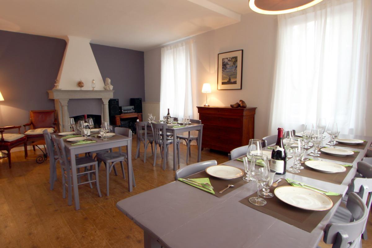 salle à manger - Location de vacances - Moux-en-Morvan