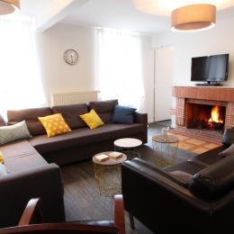 salle de bains de Forêt des mots - Location de vacances - Moux-en-Morvan