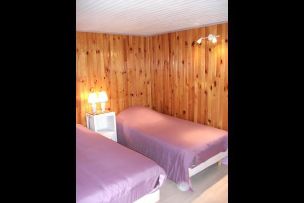Chambre deux lits - Chambre d'hôtes - Moux-en-Morvan