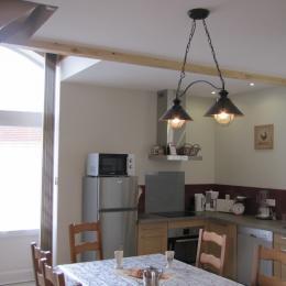 La Chênaie - la cuisine aménagée - Location de vacances - Raveau