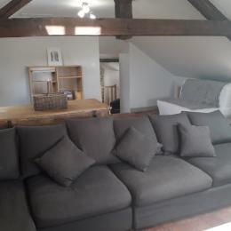 Grand gîte dans le Morvan - salon - Location de vacances - Campagne Château-Chinon
