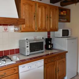 la cuisine. - Location de vacances - Colméry