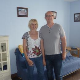 Laurence et éric, les propriétaires des gites - Location de vacances - Bergues