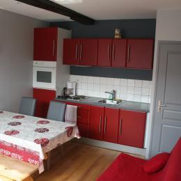 Salon/séjour/cuisine - Location de vacances - Bergues