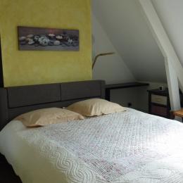 chambre lit 160 au rez de chaussée - Location de vacances - Nieurlet