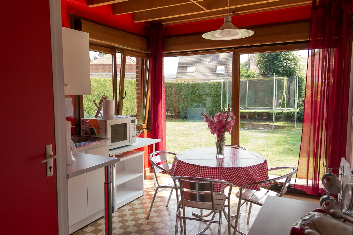 chambre à l'étage 18 m² - Location de vacances - Holque