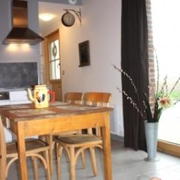 Coin cuisine - Location de vacances - Neuf-Berquin