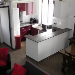 Cuisine - séjour - Location de vacances - Neuville-en-Avesnois