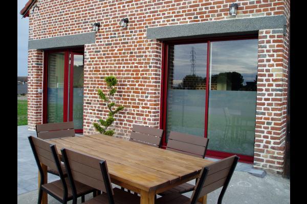 salon avec télévision écran plat - Location de vacances - Holque