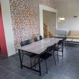 Cuisine équipée (four, lave vaisselle, micro onde, plaques induction, frigidaire, congélateur) - Location de vacances - Holque