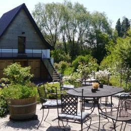 La terrasse - Chambre d'hôtes - Winnezeele
