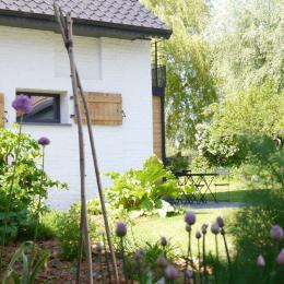 jardin des herbes aromatiques - Chambre d'hôtes - Winnezeele