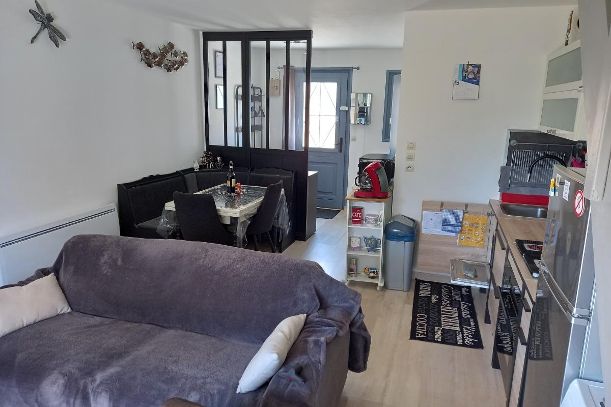 vue 2 lit mezzanine - Location de vacances - Bray-Dunes