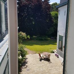 vue sur le parc - Chambre d'hôtes - Le Quesnoy