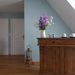 L'espace de convivialité - Chambre d'hôtes - Ebblinghem