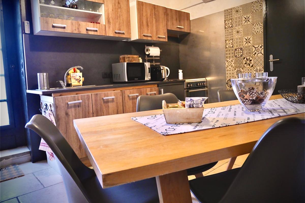 Salle à manger - Location de vacances - Flines-lès-Mortagne