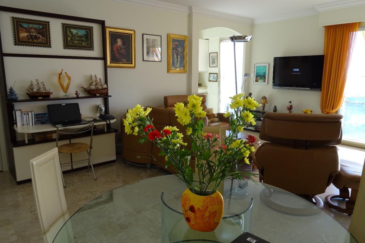 La pièce à vivre  - Location de vacances - Villefranche-sur-Mer