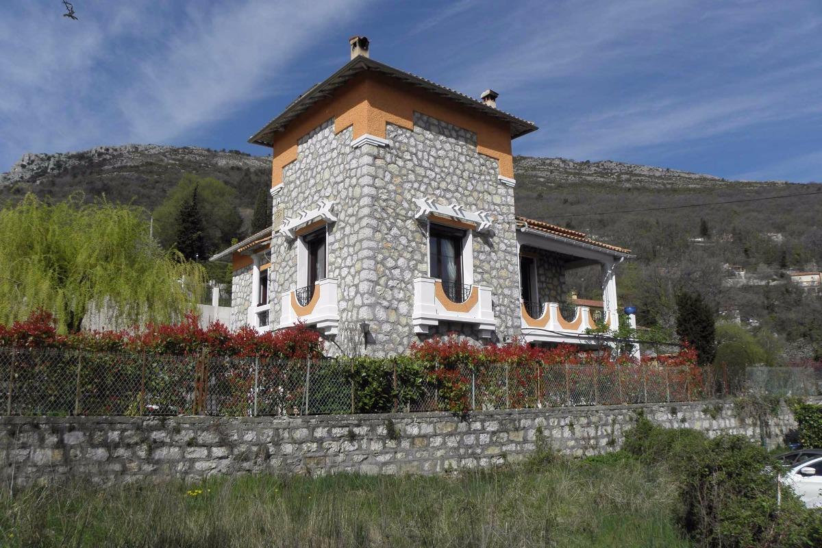 Vue la maison - Location de vacances - Bouyon