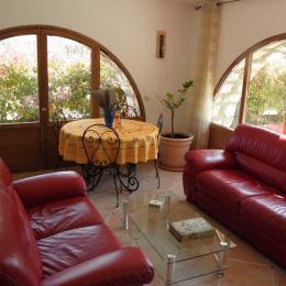 Salon/séjour - Location de vacances - Bouyon