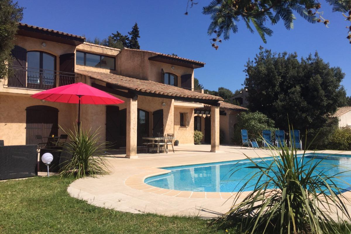 La villa, piscine, jardin - Location de vacances - Biot