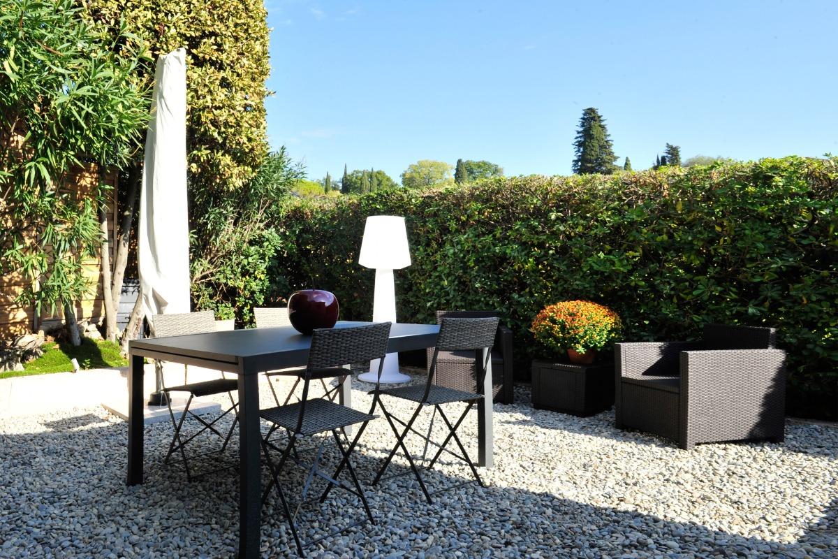 La Valériane-Grasse- Jardin privatif clos sans vis à vis - Location de vacances - Grasse