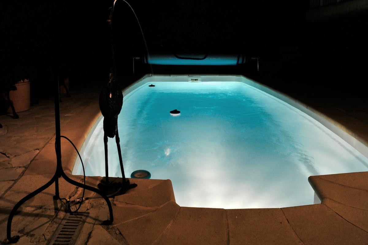 La Valériane- Grasse, piscine de nuit,  - Location de vacances - Grasse