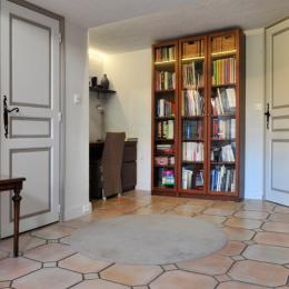 La Valériane- Grasse, espace bureau , bibliothèque - Location de vacances - Grasse