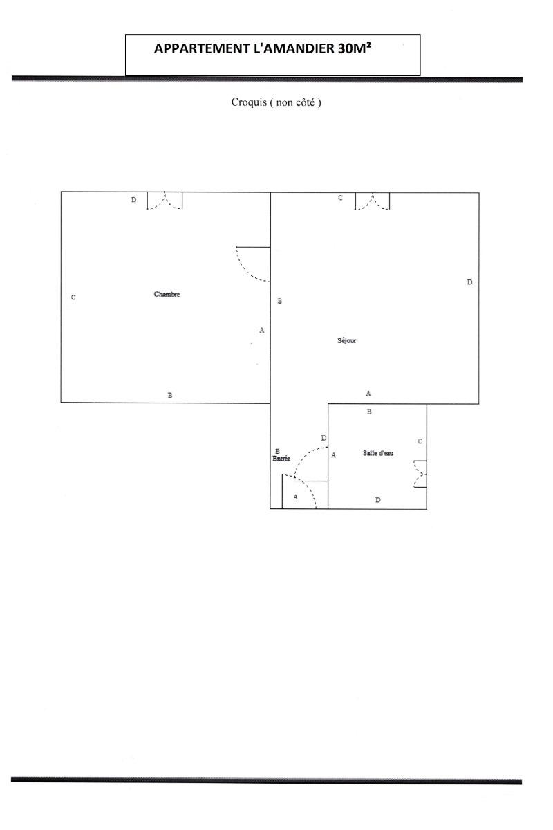 Mas d'Angeline Beausoleil Appartement l'Amandier 30 m² Vue sur Monaco et la mer - Location de vacances - Beausoleil