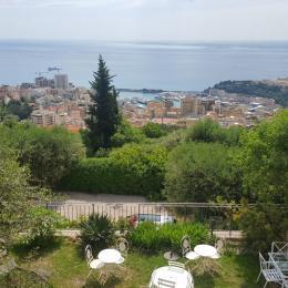 Vue sur Monaco et la mer, Mas des Angelines-Beausoleil - Location de vacances - Beausoleil
