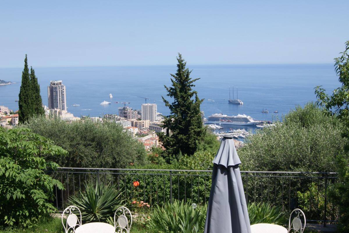 Mas d'Angeline Beausoleil Appartement le Cactus 25m² Vue Monaco et Mer - Location de vacances - Beausoleil