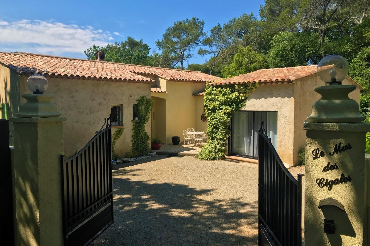 Une maison provençale - Location de vacances - Valbonne