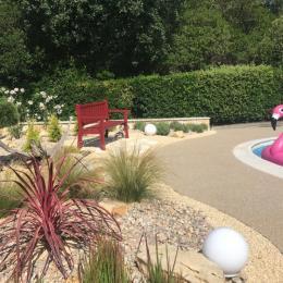 La piscine - Location de vacances - Valbonne