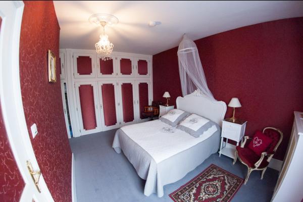 chambre 2 ème étage - Chambre d'hôtes - Quesmy