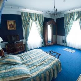 chambre saphir 1er étage - Chambre d'hôtes - Quesmy