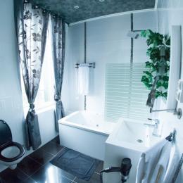 salle de bain saphir - Chambre d'hôtes - Quesmy