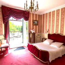 chambre rubis 1er étage - Chambre d'hôtes - Quesmy