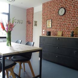 Le salon  - Chambre d'hôtes - Duvy