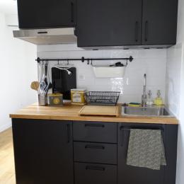 La kitchenette  - Chambre d'hôtes - Duvy