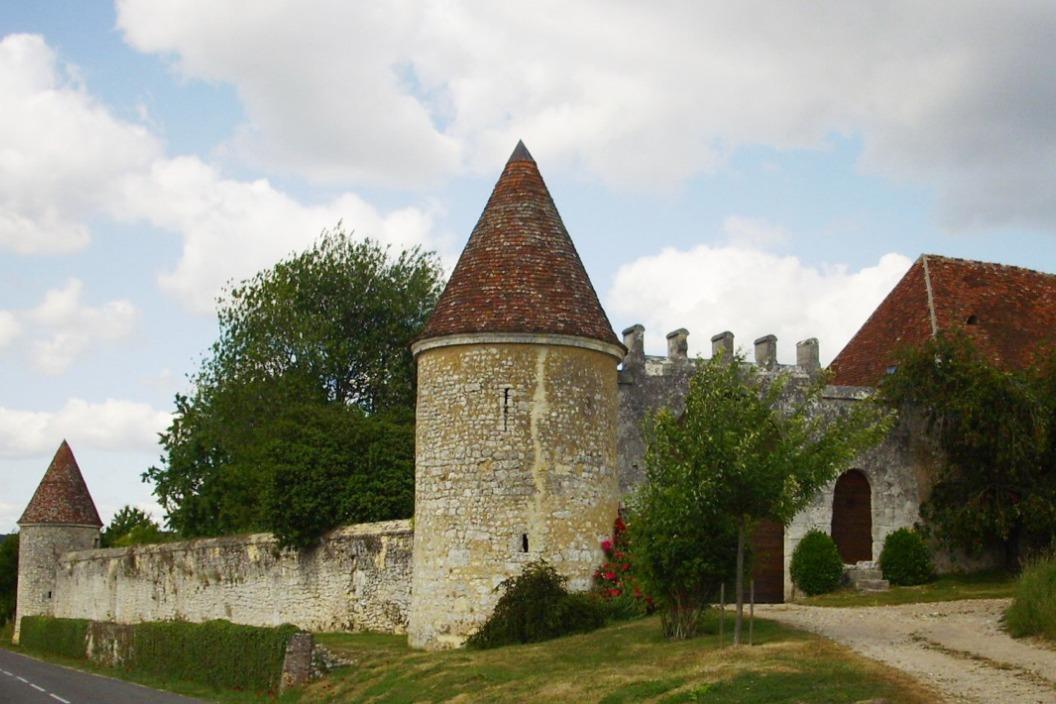 Manoir de La Moussetière - Fortifications - Chambre d'hôtes - Boissy-Maugis