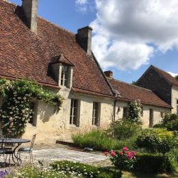 Manoir de La Moussetière - Terrasse - Chambre d'hôtes - Boissy-Maugis