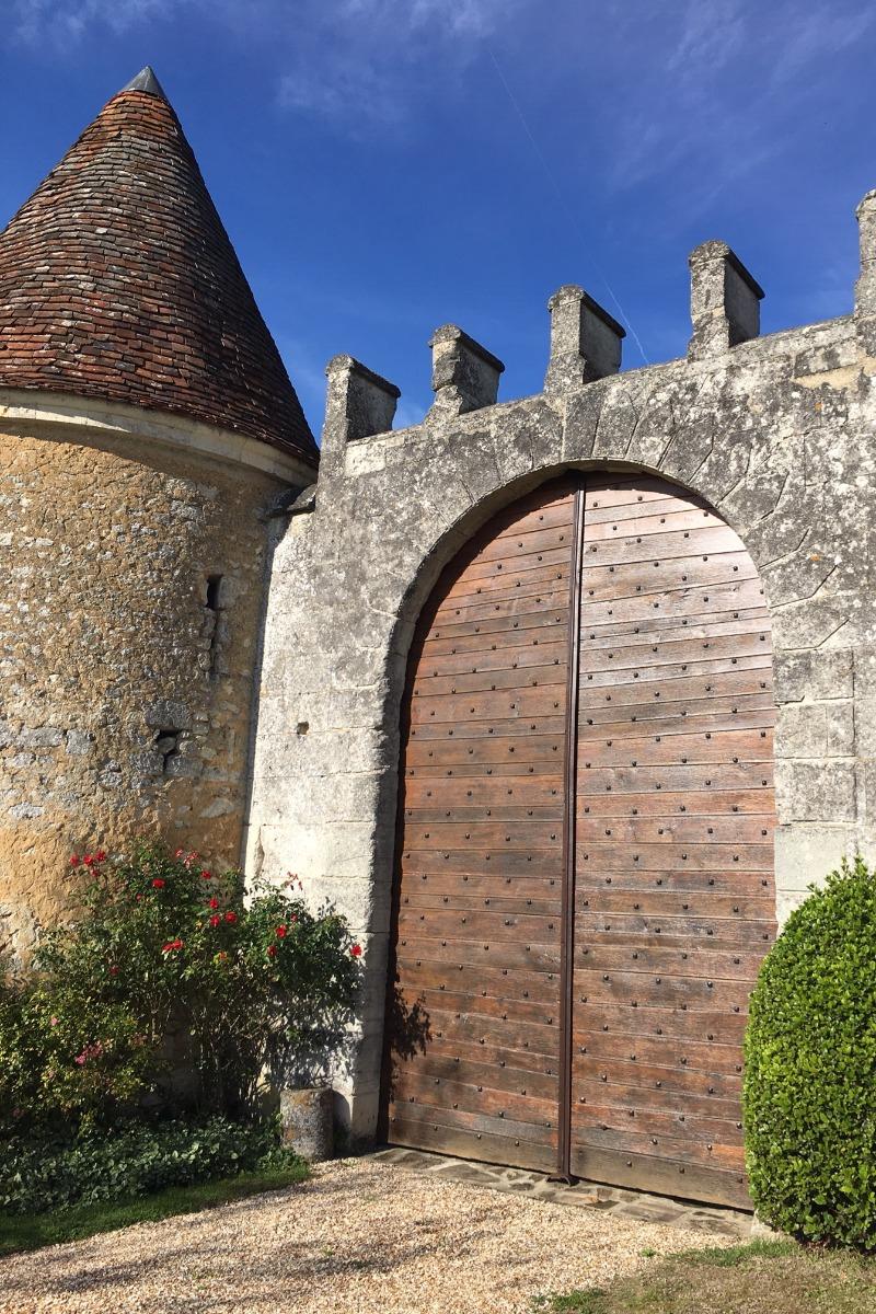 Porte principale - Location de vacances - Cour-Maugis sur Huisne