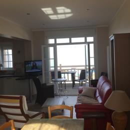 Salle et séjour - Location de vacances - Wimereux